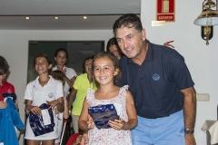 Torneo Junior 9 hoyos - 1ª clasificada