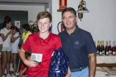 Torneos Junior 18 hoyos - 2º clasificado